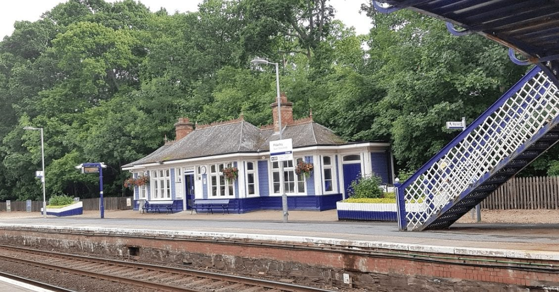 Pitlochry station